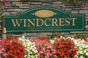 Windcrest front Sign