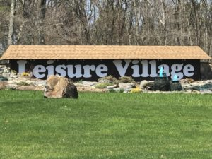 Leisure Village Sign