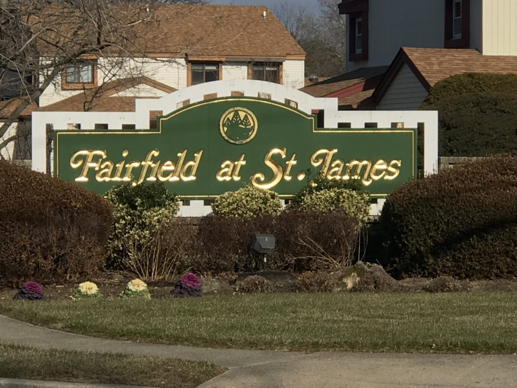Fairfield at St. James sign